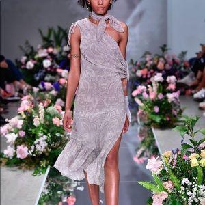 We are Kindred Constance Drape Sleeve Midi Dress 4